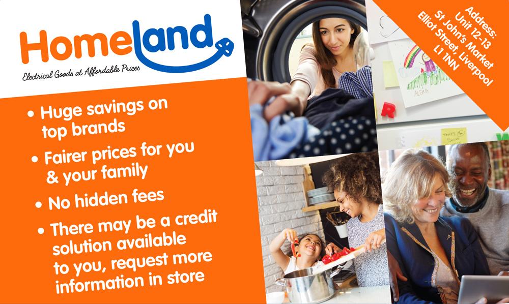 Homeland Comforts brochure